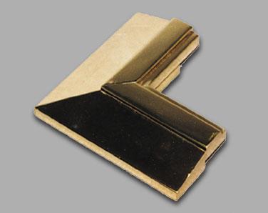Custom Metal Components | Polished Brass Window Trim Moldings